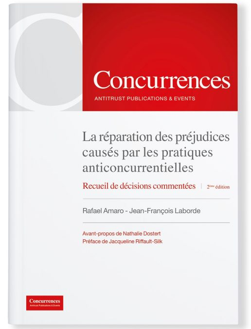 Compensation for harm caused by anticompetitive practices (2nd edition)